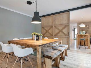Dröm Living Salle à manger scandinave