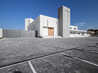 Real Monasterio de Santa Catalina de Siena Hernández Arquitectos Casas de estilo minimalista