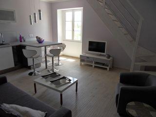 Rénovation appartement Idee O conseils Salon moderne