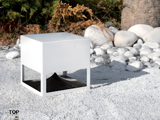 Outdoor Lautsprecher media & home :: hoffmann Minimalistischer Garten
