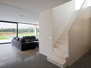 hasa architecten bvba Modern Oturma Odası