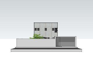 casa MADRID (la morada de un psicólogo) Alejandro Ramos Alvelo / arquitecto Casas de estilo moderno