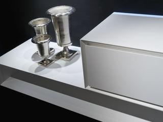 K.One, collezione arredo bagno, versione in Corian Ri.fra mobili s.r.l. Bagno moderno