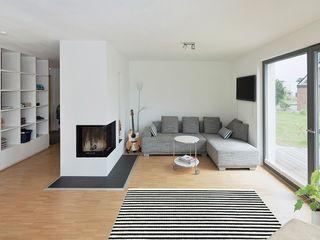 Gondesen Architekt Salas de estar escandinavas