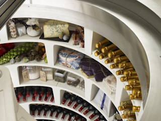 PIWNICA na WINO Country style wine cellar