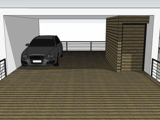 casa en El Atabal Alejandro Ramos Alvelo / arquitecto Casas de estilo moderno