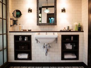 Drummonds Case Study: Loz Feliz Retreat, California Drummonds Bathrooms Mediterranean style bathrooms