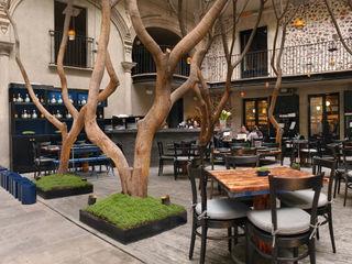 kababie arquitectos Eclectische winkelruimten