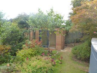 Malpas Project - Cornwall Building With Frames Modern Garden