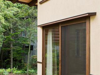 小淵沢の山荘(さくら庵) 有限会社中村建築事務所 オリジナルな 家