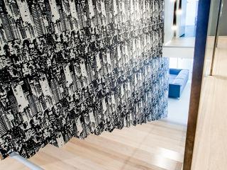 DK architektura wnętrz Koridor & Tangga Modern