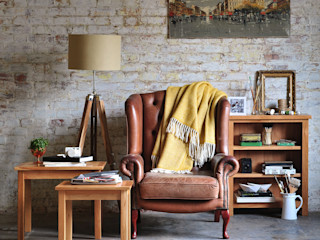 Sterling Oak Nest of Tables The Cotswold Company 거실소파테이블 & 협탁