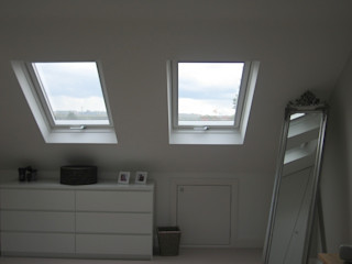 Dressed Hip to Gable Loft Conversion A1 Lofts and Extensions Fenster & TürFenster