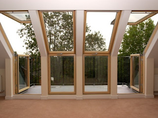 Wimbledon Loft Conversion A1 Lofts and Extensions Balkon, Veranda & TerrasseMöbel