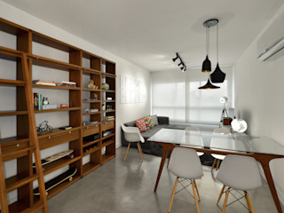 Johnny Thomsen Arquitetura e Design Столовая комната в стиле модерн