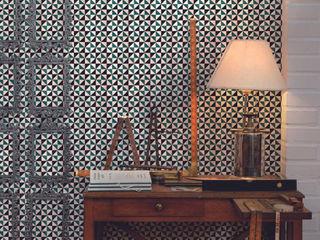 Tiles 'Digitally Printed' Wallpaper Collection Paper Moon Paredes y pisosPapeles pintados