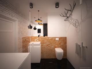 Ale design Grzegorz Grzywacz Scandinavian style bathroom