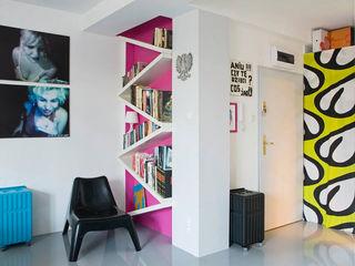 Pracownia Silvergrey Salones de estilo ecléctico