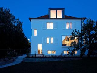 Einfamilienhaus G Architekturbüro Dongus Moderne Häuser