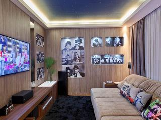homify Медиа комната в стиле модерн