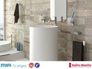 Accesorios de baño adhesivos Baño Diseño Baños de estilo moderno