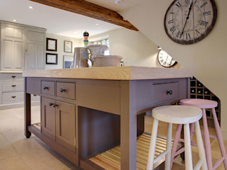 Free Standing Islands Duck Egg Kitchens Classic style kitchen
