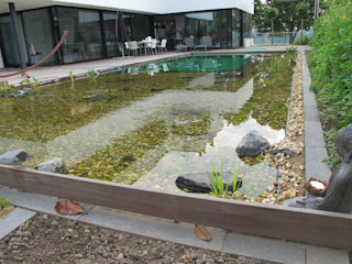 Design Bio Pool Nagelschmitz Garten- und Landschaftsgestaltung GmbH Moderner Garten