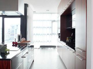 mieszkanie Wilanów kmb studio Nowoczesna kuchnia