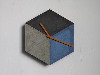 cubeclock | betonUHR betonIDEE EsszimmerAccessoires und Dekoration