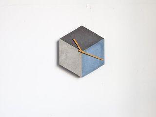 cubeclock | betonUHR betonIDEE WohnzimmerAccessoires und Dekoration
