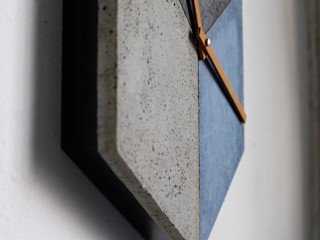 cubeclock | betonUHR betonIDEE ArbeitszimmerAccessoires und Dekoration