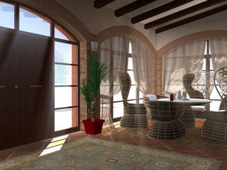 Villa a Roma - Villa in Rome Planet G Giardino d'inverno in stile classico