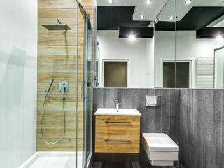 COCO Pracownia projektowania wnętrz Minimalist bathroom