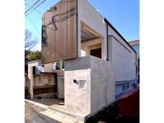 辻史彰建築研究所 Moderne huizen