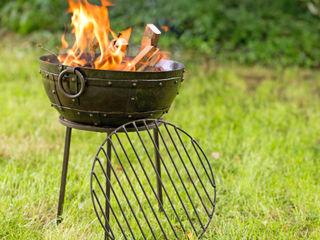Firebowls Hen and Hammock GartenFeuerplätze und Grill