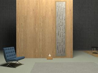 ICICLES Grześkiewicz Design Studio Minimalist living room