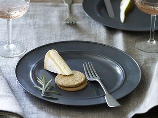 Kestle Zinc Plates, Set of Four Rowen & Wren KitchenCutlery, crockery & glassware