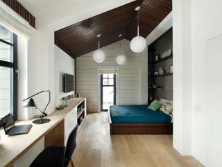 ZE|Workroom studio Scandinavian style bedroom