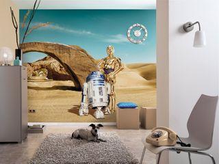 Star Wars Photomural 'Lost Droids' ref 8-484 Paper Moon Paredes y pisosPapeles pintados