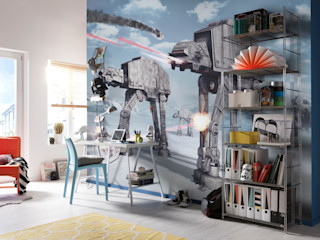 Star Wars Photomural 'Battle of Hoth' ref 8-481 Paper Moon Paredes y pisosPapeles pintados