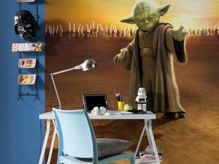 Star Wars Photomural 'Master Yoda' ref 4-442 Paper Moon Paredes y pisosPapeles pintados