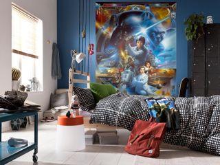 Star Wars Photomural 'Luke Skywalker' ref 4-441 Paper Moon Paredes y pisosPapeles pintados