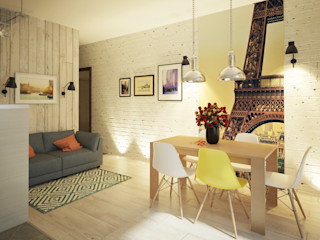 Polovets design studio Dapur Gaya Industrial