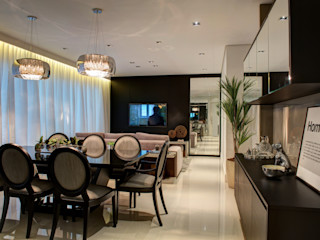Renato Lincoln - Studio de Arquitetura Modern dining room