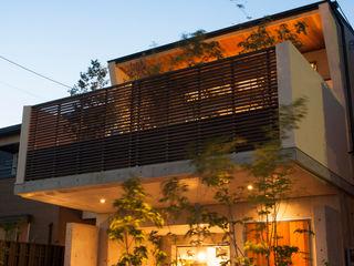 Sakurayama-Architect-Design Eklektyczne domy