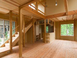 氏原求建築設計工房 Rustic style living room