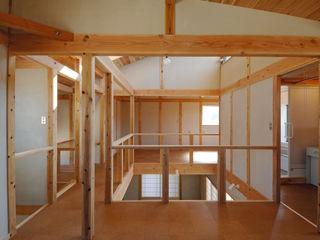 氏原求建築設計工房 Rustic style media room