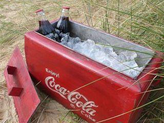 Vintage Coca Cola Cool-Box Vintage Archive HouseholdHomewares
