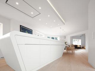 Schmidt Holzinger Innenarchitekten Dapur Modern