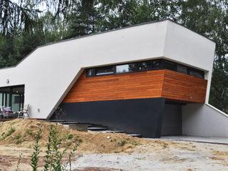 STRUKTURA Łukasz Lewandowski Casas modernas: Ideas, imágenes y decoración